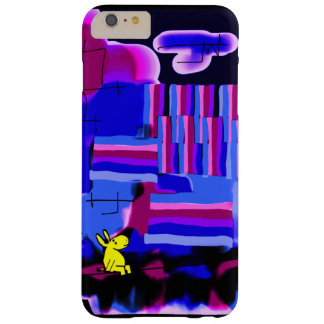 donkey and abstract night barely there iPhone 6 plus case