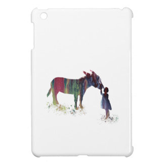 Donkey and child case for the iPad mini