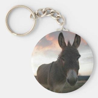 Donkey Art Basic Round Button Key Ring