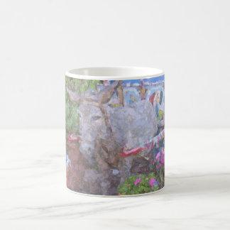 donkey art mugs