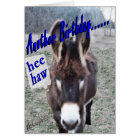 Donkey Birthday-customise it Card