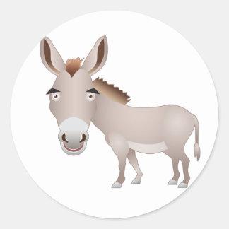 Donkey Classic Round Sticker