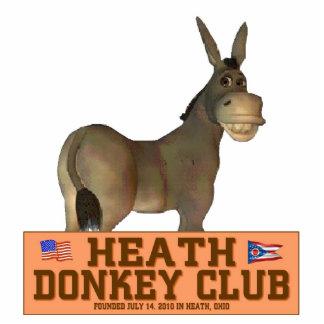 Donkey Club Standing Photo Sculpture