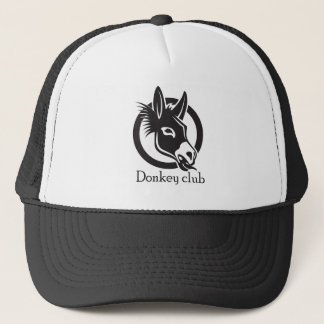 Donkey club trucker hat