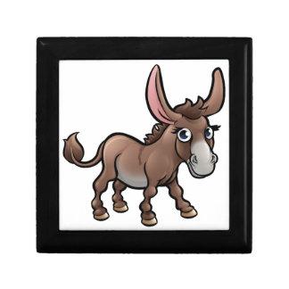 Donkey Farm Animals Cartoon Character Gift Box