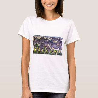 Donkey Frieze by Franz Marc T-Shirt