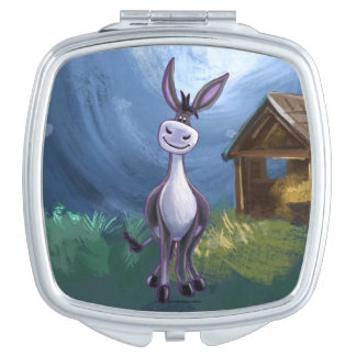 Donkey Gifts & Accessories Makeup Mirror