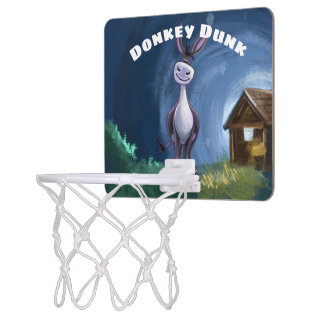 Donkey Gifts & Accessories Mini Basketball Hoop