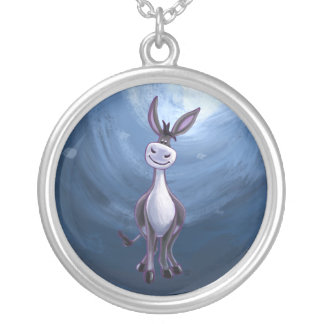 Donkey Gifts & Accessories Silver Plated Necklace
