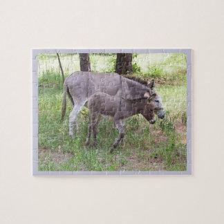 Donkey Grazing Puzzle