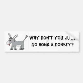 Donkey Honk Bumper Stickers