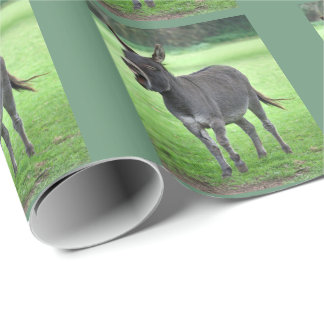 Donkey Laugh Wrapping Paper