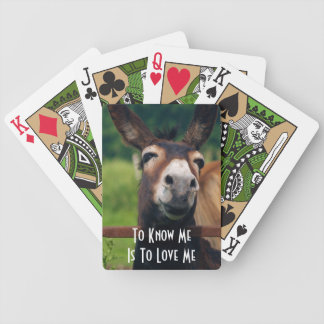 Donkey Love Playing Cards
