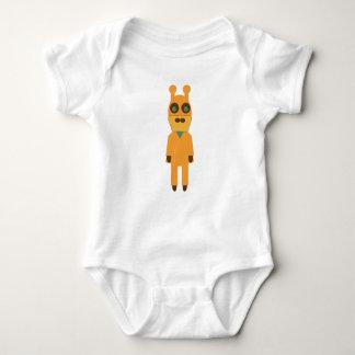 Donkey of teacher generation baby bodysuit