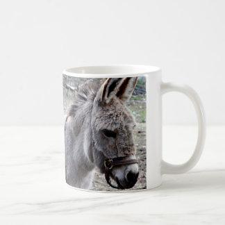 Donkey photography basic white mug