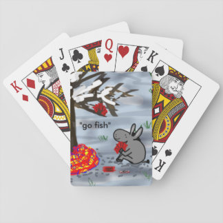 donkey playing go fish playing cards