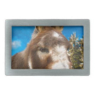 Donkey Rectangular Belt Buckle