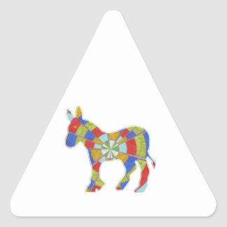 Donkey Rock - American Elections Votes 2012 Triangle Sticker