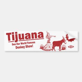 Donkey Show Bumper Sticker