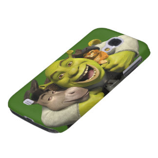 Donkey, Shrek, And Puss In Boots Galaxy S4 Covers