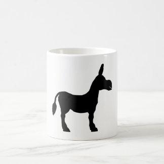 Donkey Silhouette Coffee Mug