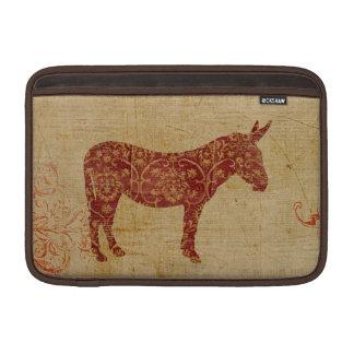 Donkey Silhouette Macbook Sleeve