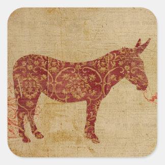 Donkey Silhouette Sticker