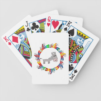 Donkey Stars Bicycle Playing Cards