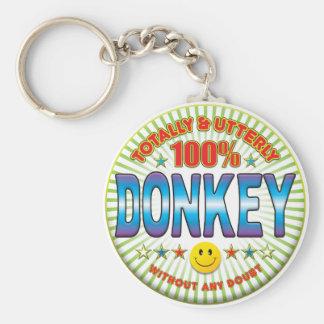 Donkey Totally Key Ring
