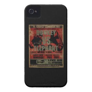 Donkey vs. Elephant iPhone 4 Covers