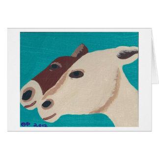 Donkeys Card