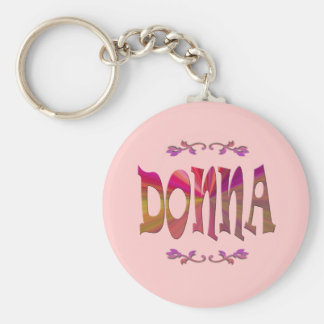Donna Keychain