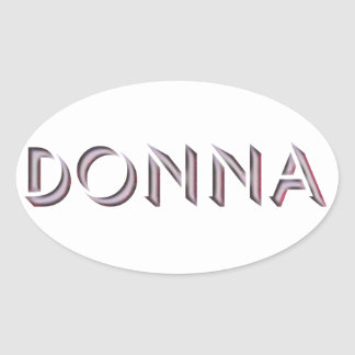 Donna sticker name
