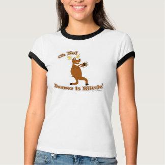 Donner is Blitzen Holiday T-shirt