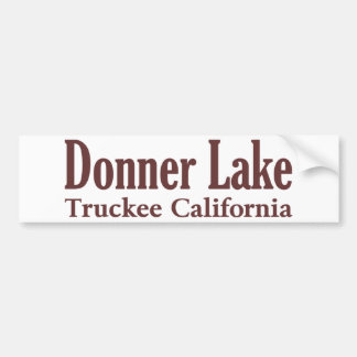 Donner Lake Bumper Sticker