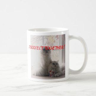 donnyandphoebevalentine, PURRFECT TOGETHER!, KI... Coffee Mugs