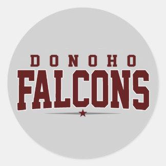 Donoho High School; Falcons Stickers