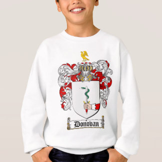 DONOVAN FAMILY CREST -  DONOVAN COAT OF ARMS SWEATSHIRT