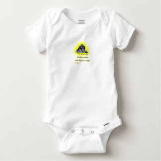 Don't accept your dog's admiration baby onesie
