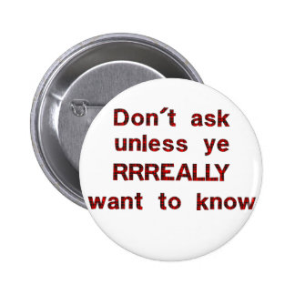 Dont Ask Pinback Buttons