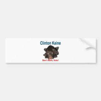 Don't Bark ... Vote! Bumper Sticker
