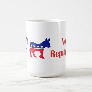 Don't Be a Donkey Bumper Sticker Basic White Mug
