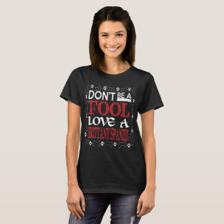 Dont Be A Fool Love A Brittany Spaniel T-Shirt