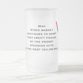 Don't be fooled by phoney spending cuts coffee mug