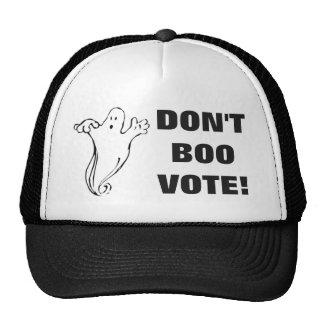 Don't Boo Vote! -3 Trucker Hat