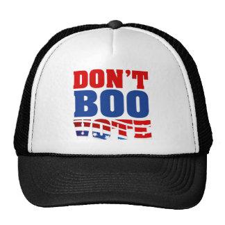 Don't Boo Vote Cap