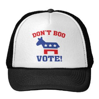 Don't Boo Vote! Cap