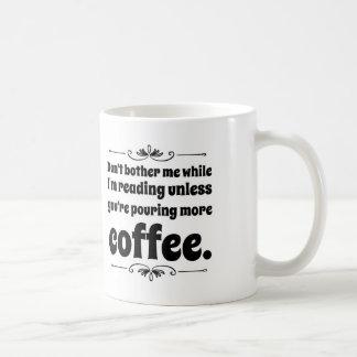 Don't Bother Me Coffee Mug. Coffee Mug