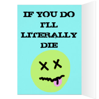 Don't Break my Heart Greeting Card