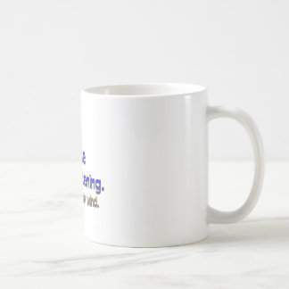 Don't Break Wind - Universe is Listening Basic White Mug